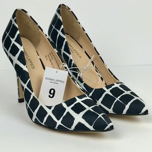 NWT Adam Lippes for Target Black and White Heels